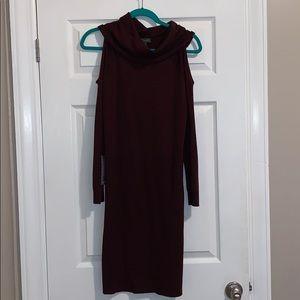 NWT The Limited dark purple sweater dress. Size XS